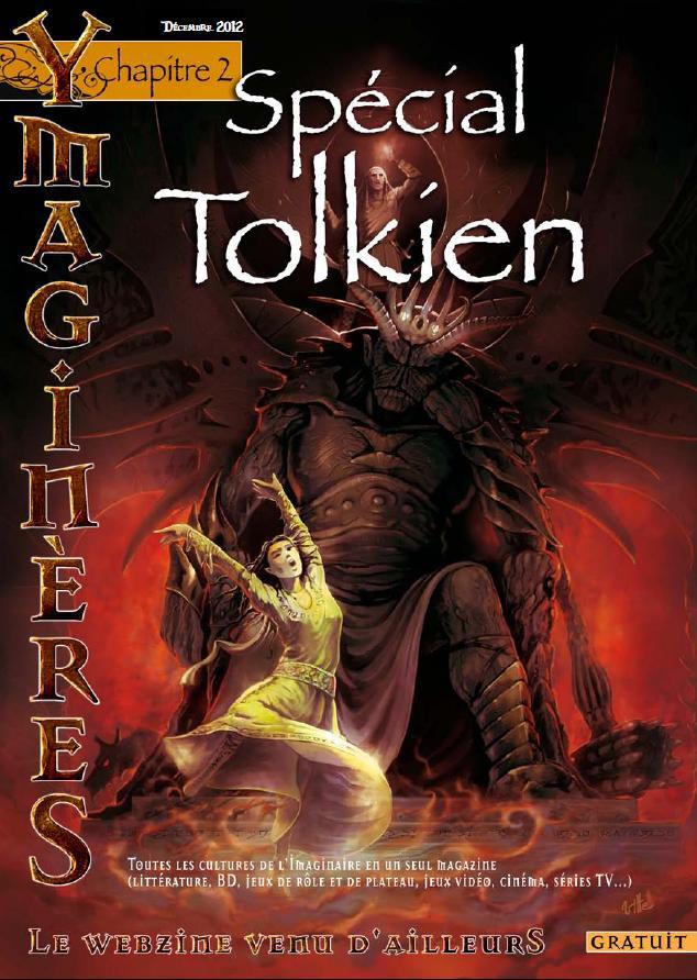 [webzine SFFF] YmaginèreS n°2 spécial Tolkien est paru YS2_couv