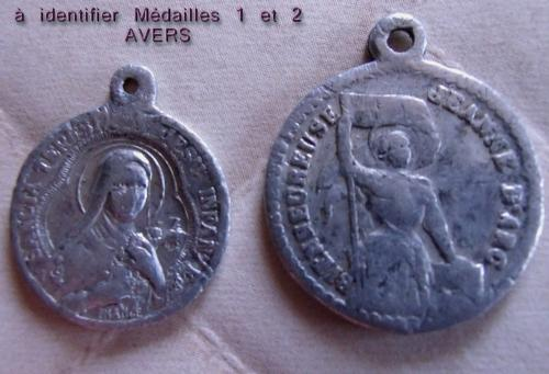 4 Médailles fin XIXème M3__identifier_photo_1