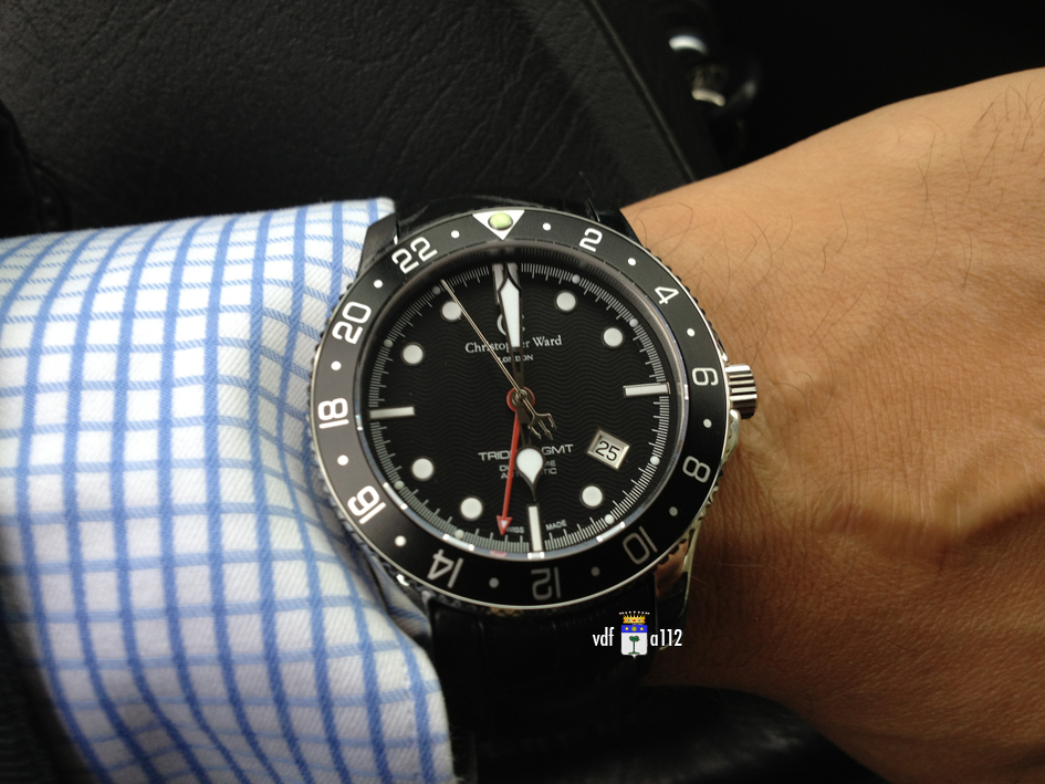 ward - Christopher Ward C60 Trident GMT  CW-C60-GMT-IMG_5643