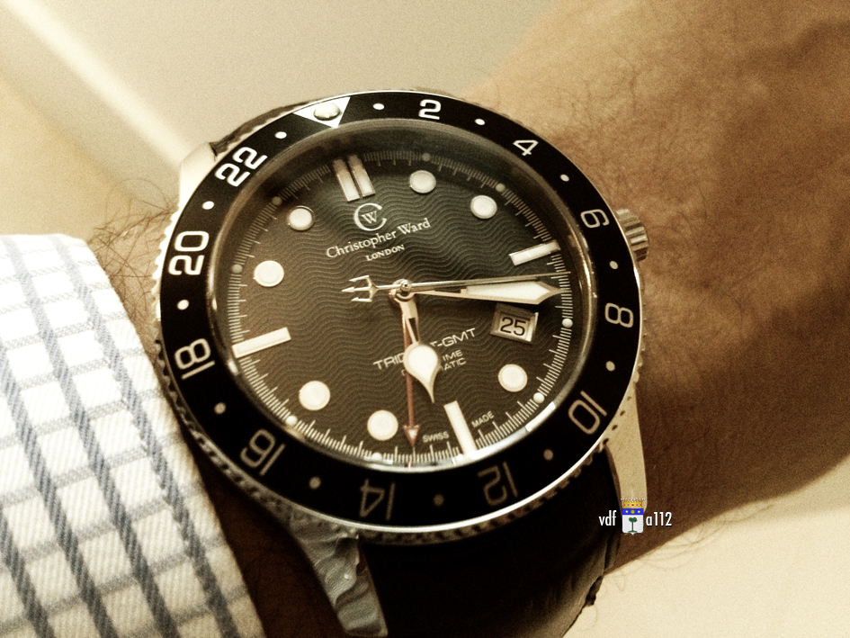 ward - Christopher Ward C60 Trident GMT  CW-C60-GMT-IMG_5645